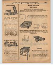 1927 PAPER AD Coleman Camp Stove Pocket Kook Kit Upton Boy Scout American Stove