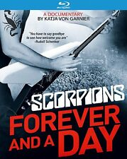 Forever and a Day Blu-ray Scorpions Rock Band Documentary Footage Interview Film