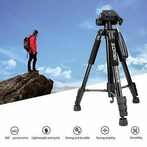 Zomei Q222 Travel Camera Tripod Portable Lightweight  Monopod For Sony Nikon