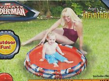 Marvel Ultimate Spider-Man Inflatable Pool Ages 3+ NEW