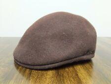 Maroon Wool Felt Kangol Hat Golf Cap Winter Size XL