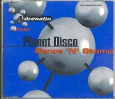 PLANET DISCO - dance 'n' stomp  5 trk MAXI CD  1998