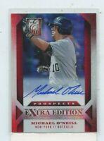 MICHAEL O'NEILL 2013 Panini Elite Extra Edition Prospect Auto Autograph #D /349