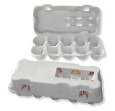 510 neutrale 10er Eierschachteln, Eierkartons; blau, grau, gelb oder grün