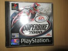 SUPERBIKE 2000 SONY PLAYSTATION 1 PS1 new sealed pal version