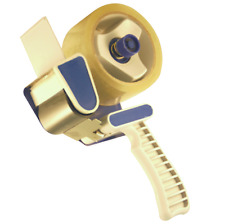 Handabroller -  Paketband-Abroller Klebebandroller  ohne Klebeband