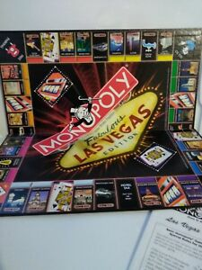 LAS VEGAS EDITION MONOPOLY Game board replacement board 2000 edition