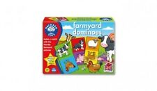 Orchard Toys 006 Farmyard Dominoes Matching & Memory Game Toddler Children 3yrs