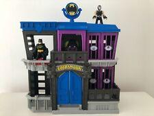 Imaginext Batman Gotham City Jail with Batman and Bane Action Figures