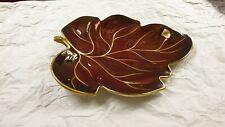 Vintage Carlton Ware Rouge Royale Leaf Dish Plate