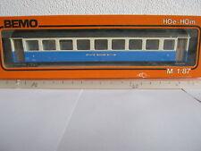 BEMO HOM 3090 vagoni 2 KL btrnr 201mbo + luce (rg/bt/144-44r2/11)