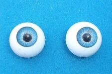 "pair of acrylic eyes blue 0.63""/16 mm paperweight"