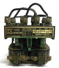 SQUARE D HOIST CONTACTOR 8965-R04S1, SERIES C, 120/110V, 60/50CY
