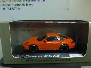 1/43 PORSCHE MINICHAMPS 911 997 CARRERA 4 GTS