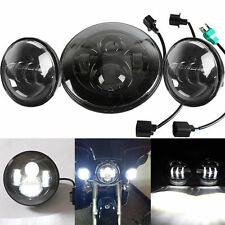 """7"""" Projector LED Headlight+Passing Lights For Harley Electra Glide Ultra Limited"""