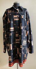 NWOT $915 DRIES VAN NOTEN Davitus Cotton Poplin Shirt Dress, Size Medium