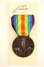 WW1 ITALIA ITALY ITALIAN ARMY VICTORY MEDAL MILTARY FORCES GRANDE GVERRA PER LA