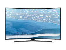 Samsung Curved 4K 55-inch Smart TV with HDR WiFi Netflix Amazon Apps UN55KU6500