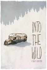 Into The Wild Movie POSTER 27 x 40 Emile Hirsch, F, LICENSED, U.S.A. NEW