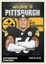 Alex Highsmith LB Pittsburgh Steelers Handmade Art Custom Card Rookie