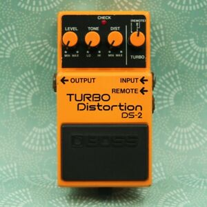 BOSS DS-2 TURBO Distortion Guitar Effect Pedal DE37307
