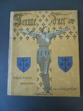 JEANNE D'ARC Funck-Brentano , Guillonnet , 1929 , Boivin Paris