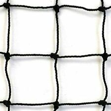 Baseball, Softball  Barrier Net,Knotted Nylon , #18  Black, 10' X 10' NEW!