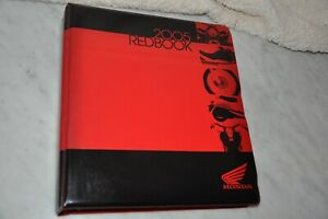 Honda 2005 RedBook Motorcycle Dealer Only Sales Binder Catalog Specs Pictures