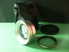 KAT SL 49mm 2.0X Telephoto Lens+Adapter Ring For Fujifilm Fuji X100S X100 Camera