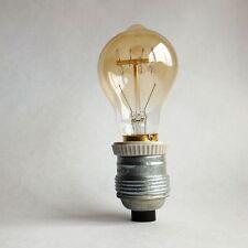 Vintage Industrial Porcelain Pendant Metal Ceramic E27 Bulb Socket Holder