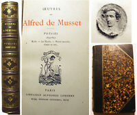 MUSSET/POESIES 1833-1852/ROLLA-LES NUITS../ED LEMERRE/SANS DATE/1890/FRONTISPICE