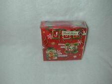 PUNCH STUDIO CHRISTMAS ''RED TAG COLLAGE'' 40 PAPER BEVERAGE NAPKINS-NEW