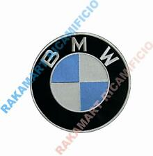 BMW PATCH TOPPA RICAMATO TERMOADESIVO embroidery DIAMETRO cm 15