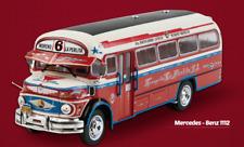 Mercedes Benz 1112 La Perlita Bus Linea 6 1965 Argentina Rare Big Diecast 1:43