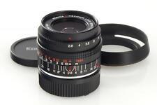 Konica f. Leica M 2.8/28mm M-Hexanon // 26475,3