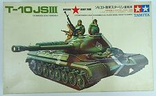 Vtg TAMIYA Model Kit T-10 JSIII 1/35 Scale Russian Army Heavy Tank Motorized NOS