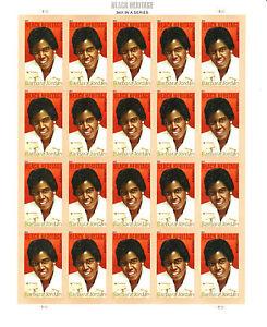 BARBARA JORDAN STAMP SHEET -- USA #4565 2011 BLACK HERITAGE