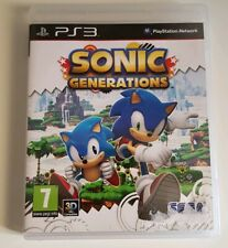 Sonic Generations PS3 Pal FR