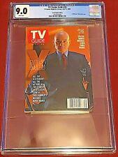 TV Guide v48 #29 July 15, 2000 CGC 9.0  X-Men Patrick Stewart Xavier Star Trek