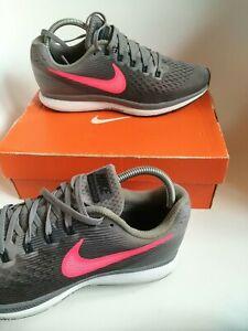 Nike Pegasus 34 women's running shoes Size 6.5 Eu 40.5 grey running trail