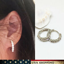 Fashion Womens Cubic Zirconia Alloy Ring Earrings Jewelry  girl Gift