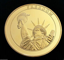 9/11 Statue of Liberty Gold Coin New York City United States of America Man USA