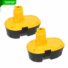 2 PACK 18V DC9096-2 Ni-CD For DeWALT DC9096 18-Volt XRP Battery DW9098 DC9099 TP