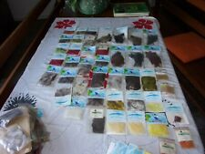 fly tying lot 100 sachets + divers.