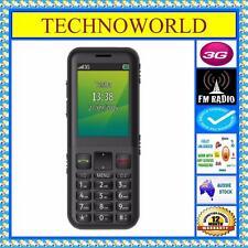 UNLOCKED TELSTRA EASYCALL 4 ZTE T403+3G BLUE TICK/RURAL+BIG BUTTON AUDIBLE PHONE