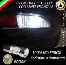 LAMPADA RETROMARCIA 15 LED P21W BA15S CANBUS FIAT GRANDE PUNTO 6000K NO ERROR