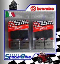 MV AGUSTA BRUTALE 910 R 2006 > 2008 PASTIGLIE FRENO BREMBO RC 2 COPPIE CARBON