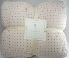 Pottery Barn Kids Blush Millie Scallop Dot Twin Quilt #4782