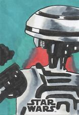 Solo A Star Wars Story, Sketch Card by Chad Schere 1/1