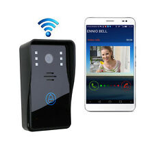 New Wireless Wifi Remote Video Camera Phone Intercom Door bell Home Security uk